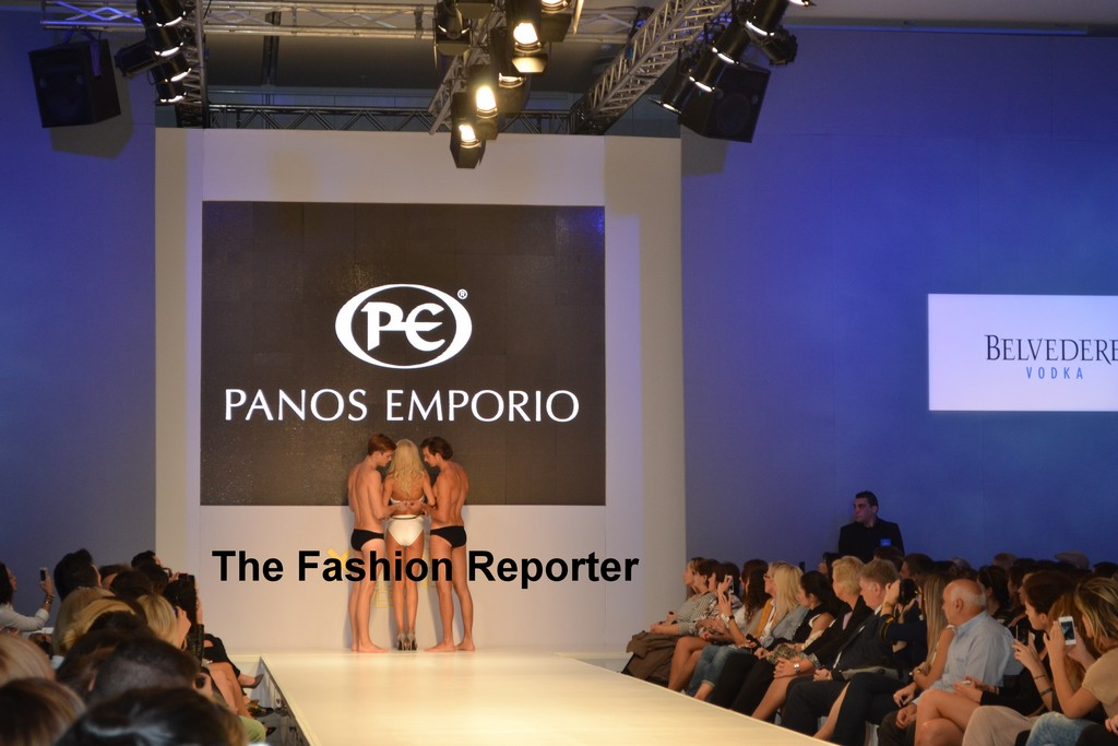 Panos Emporio Beachwear at Athens Xclusive designers Week- Spring/summer 2014