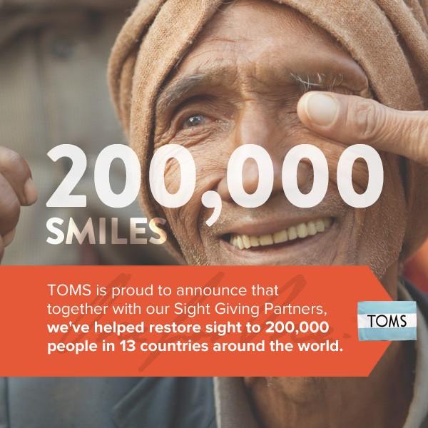 200,000 Smiles