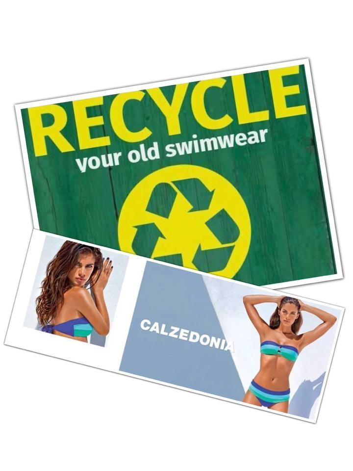H Calzedonia δίνει ζωή στα ρούχα μας!