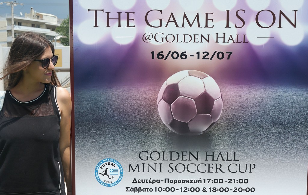 The Game is On @ Golden Hall!