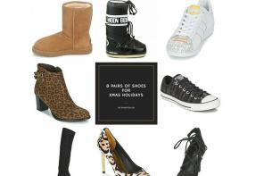 8 ζευγάρια παπούτσια για τις διακοπές των Χριστουγέννων