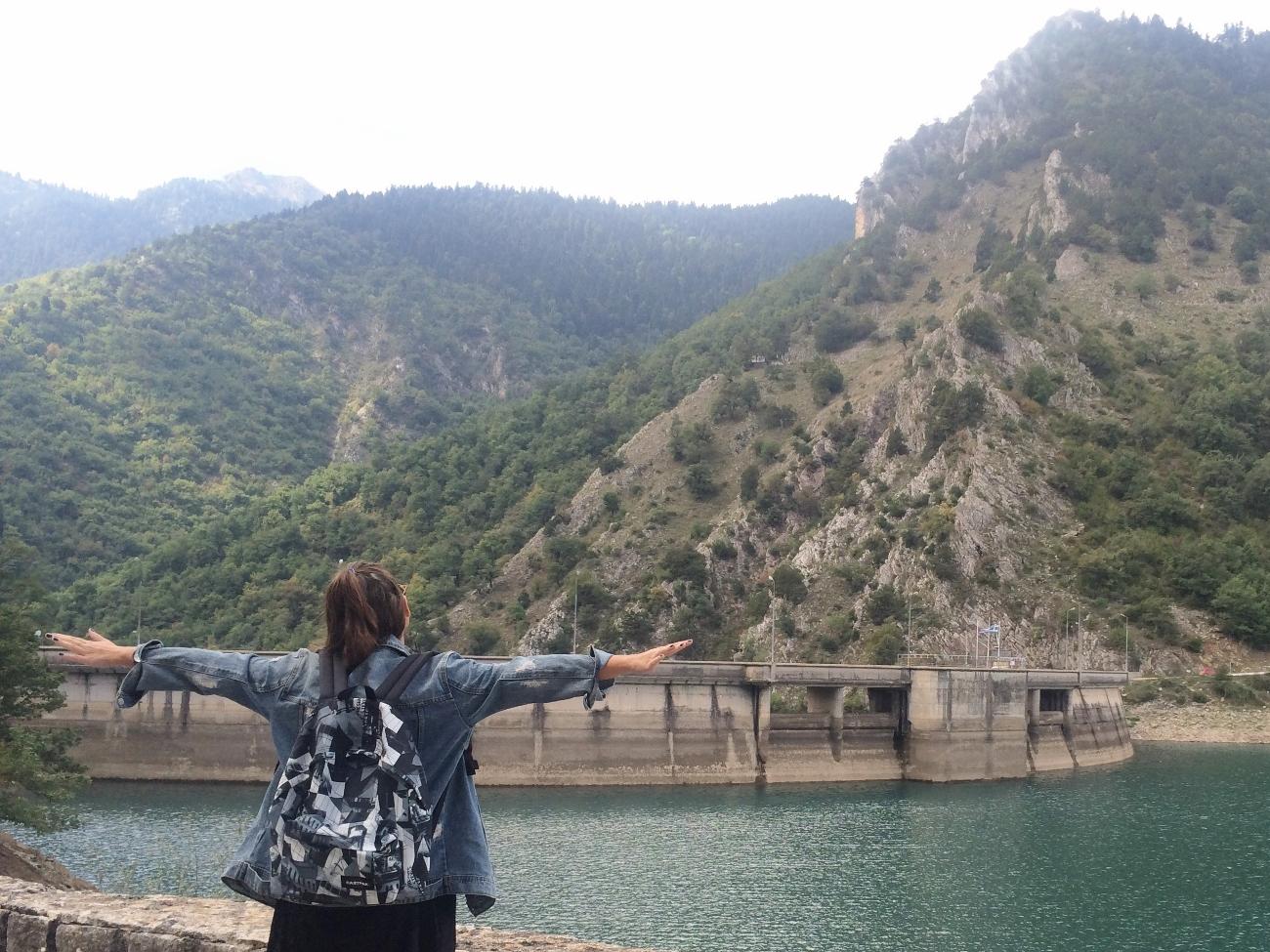 Plastiras lake 5